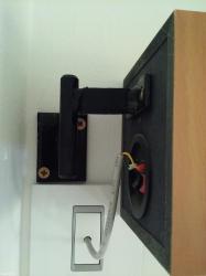 Mini-linija - Srbija: Nosaci za zvucnike do 2 kg2 komada za mini linije ili sisteme 2