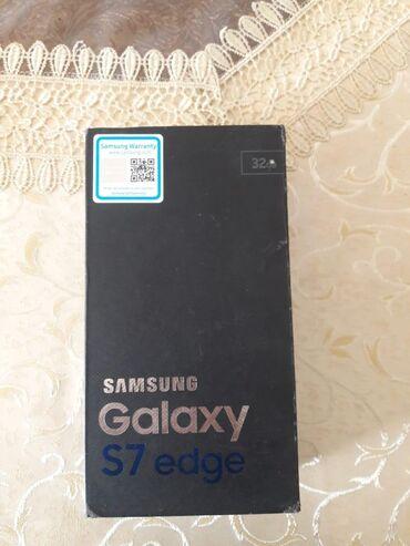 İşlənmiş Samsung Galaxy S7 Edge 32 GB qara