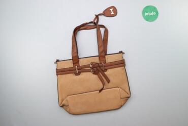 Жіноча сумка з декором    Висота: 32 см Довжина: 41 см  Стан гарний, є