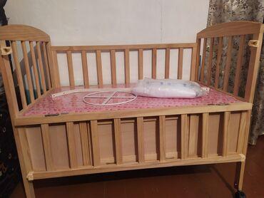 Детский мир - Шопоков: Продаю детскую кроватку.В отличном состоянии.Жёлтого цвета.В комплекте