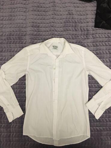 платья рубашки оверсайз в Кыргызстан: Классическая мужская рубашка, турецкая  Носили два раза качество хор