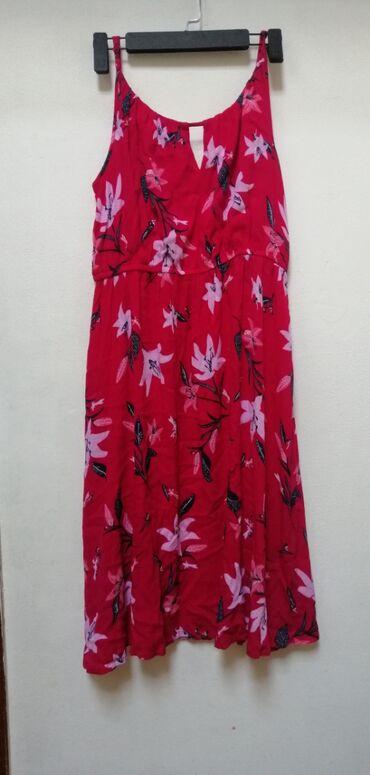 Ženska odeća | Srbija: Letnja haljina, nova, samo skinuta etiketa, naznačena veličina je L