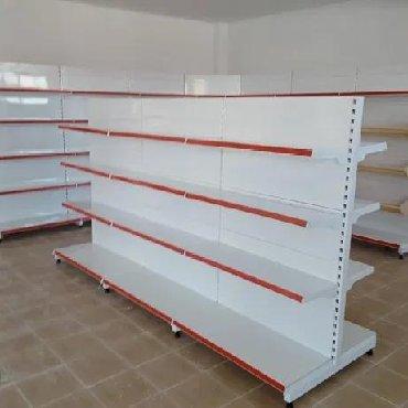 тены для сауны в Кыргызстан: Магазинное оборудование. Б.У. Полки, стеллажи, корзины, тележки и мно
