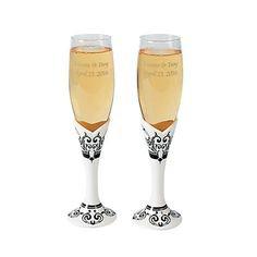 Свадебные аксессуары - Новый - Бишкек: Фужеры для шампанского- отличный подарок на свадьбу или на день