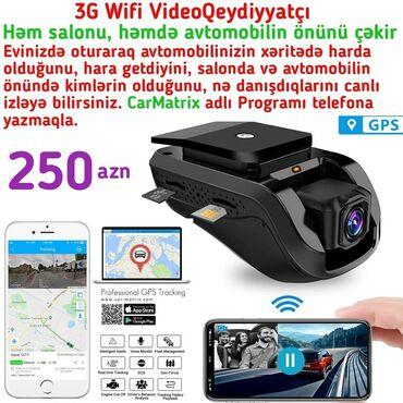 adlı - Azərbaycan: 2 Kameralı Bu Videoregistrator avtomobilin həm salonunu, həmdə önünü