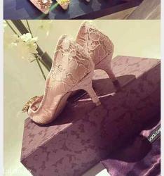 tufli kozhanye zhensk в Кыргызстан: Продаю НОВЫЕ красивые туфли d&g,Размер 38, в ЛЮКС КАЧЕСТВЕ! Таких