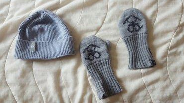 Dečije jakne i kaputi   Nis: BENETON - zimska kapica, vel od 12 do 18 meseci, size 82, rukavice