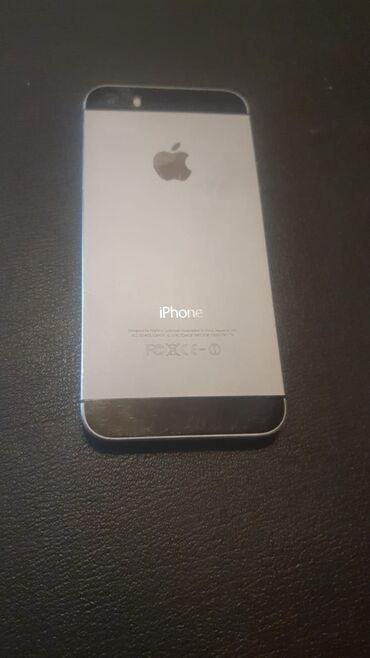 IPhone 5s | 32 GB | Boz (Space Gray) | İşlənmiş | Çatlar, cızıqlar