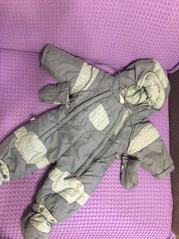 Детский мир в Баетов: Комбенизон зимний отличного качества, удобный. в идеальном состоянии