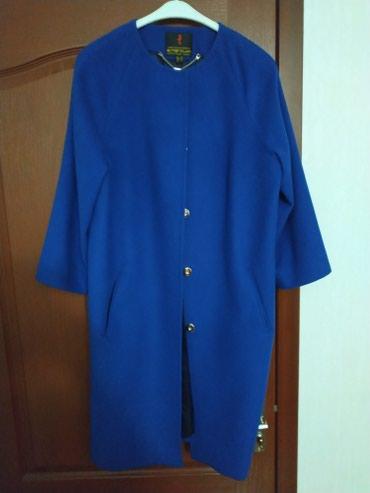 Кашемировое пальто размер 48-50, цена 4000 в отличном состоянии в Бишкек