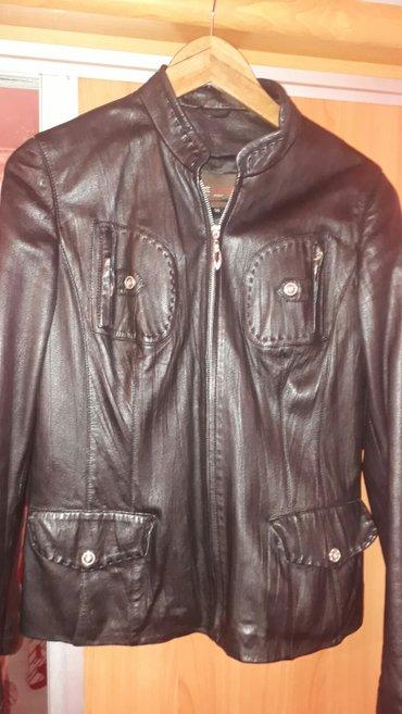 Кожаная куртка. натуралка. брала на в Сокулук