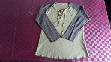 Ženska odeća   Petrovac na Mlavi: Ženska majica dugih rukava vel. XXL,polovna i ocuvana,bez