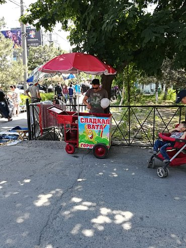 Закусочная на колесах хорошим местом ( в Бишкек