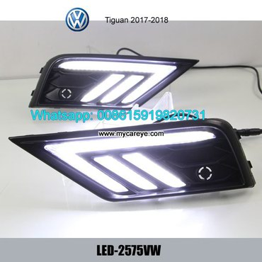 VW Tiguan DRL LED Daytime Running Lights daylight for sale in Tīkapur