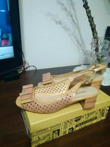 Продаю б/у босоножки 38 размера, почти новые в Бишкек
