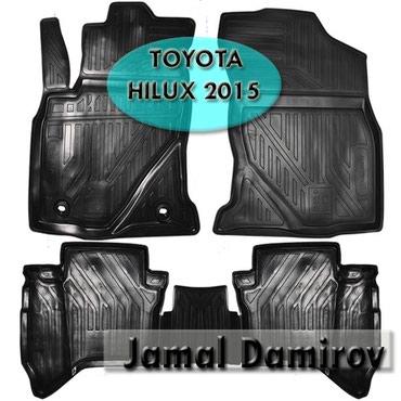 Bakı şəhərində Toyota Hilux 2015 üçün poliuretan ayaqaltilar.