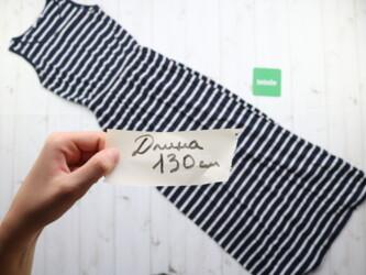 Длинное летнее платье в полоску LCW TEEN,р.S Длина: 130 см Пог: 34 см