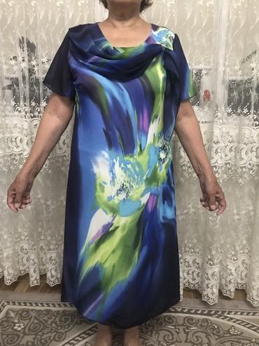 Платье 46-48 Турция Ткань креп На подкладе Состояние отличное в Бишкек