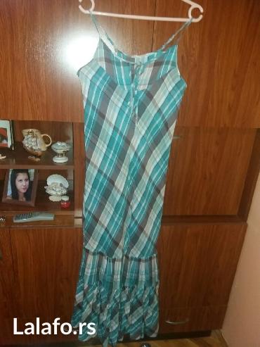 Letnja duga haljina, veličina m, pamučna je i kupljena u orient - Kragujevac
