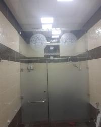 Duş kabin ara bölmeler sifarişle hazirlanir