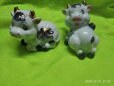 фарфоровая фигурка в Кыргызстан: Фарфоровые фигурки бычков