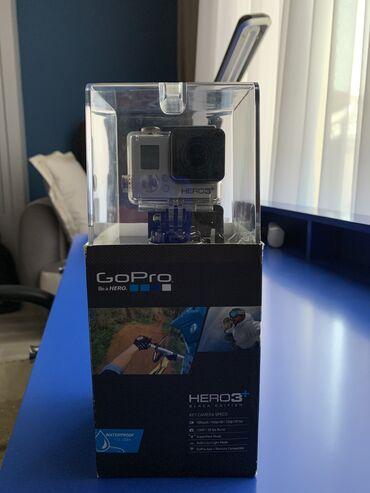 карты памяти uhs i u3 для gopro в Кыргызстан: GoPro Hero 3+ Black Edition. Экшн-камера, с защитным кейсом, который з
