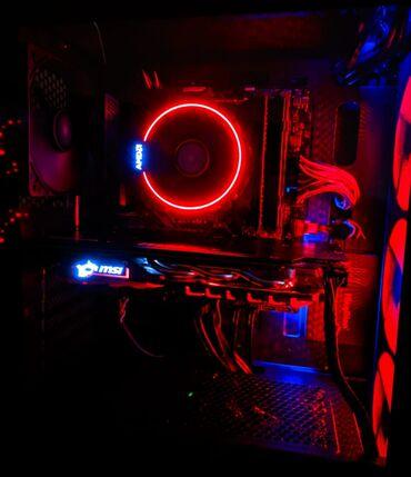 Kompüter, noutbuk və planşetlər Kürdəmirda: CPU: intel i3 9100F GPU: 1650Super GigabyteMB: H310RAM: 16GB 3000 MHZ
