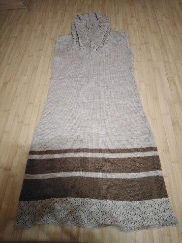 Haljina st - Srbija: St. George haljina bez rukava, mesavina vune i akrila, kao nova