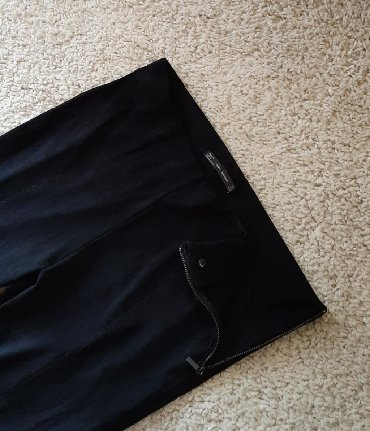 Crne pantalone uske - Srbija: Ženske pantalone Zara