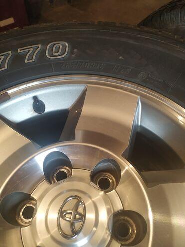 Транспорт - Заречное: Продаю диски на Прадо 4 раннер Лексус секвоя 1 кузов фж Крузер 265/70