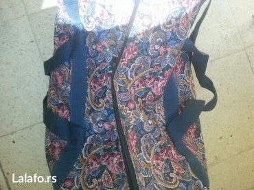 Prodaje se sarena torba sa kipra - Crvenka