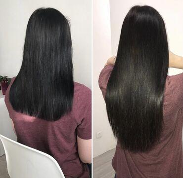 наращивание волос бишкек in Кыргызстан | ДРУГОЕ: Парикмахер | Наращивание волос | С выездом на дом