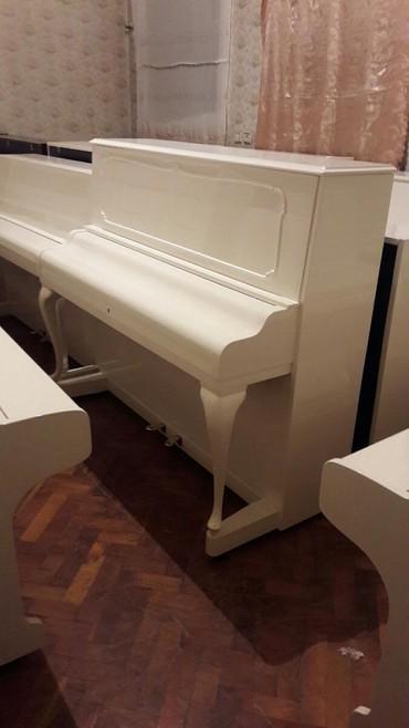 rönisch - Azərbaycan: Pianino RÖNISCH Almaniya stehsalı Royalni model. Cadırılma və köklənmə