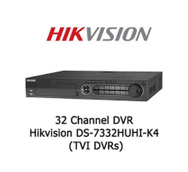Hikvision DVR DS-7332HUHI-K432 Kanal8 Ses5 MP goruntu2 İl
