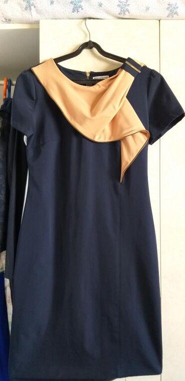 Шёлк платье летный 42разм . одет всего 1раз отдам за полцены 1000сом