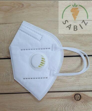 Резинки для медицинских масок - Кыргызстан: Одноразовые маски и респираторы ffp2, ffp3 (add).Одноразовые маски с