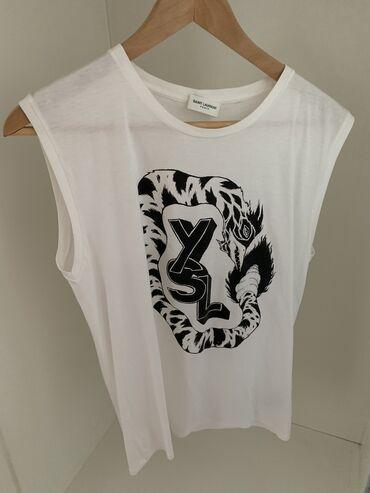 Ženske majice - Srbija: Saint Laurent majica, original.  Pamuk 100%