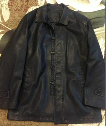 Продаю новый мужской кожаный сюртук с в Бишкек