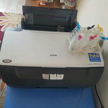 Продаю принтер Epson R 270 идеален, 6 цветный, прочищенный,можно также