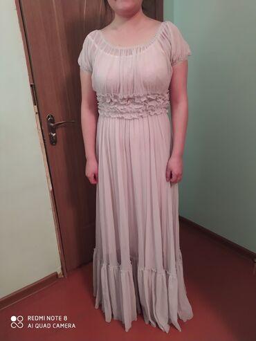 Шуба 4000 с. Черно белое платье 800 с. Длинное платье 1000 сом одевала