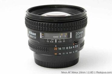 Nikon 20mm f/2.8D Fx.Никон в Бишкек - фото 2