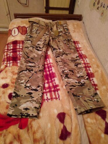 Продаю за 500военый штаны новая не одевал