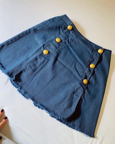 Teksas suknjica - Srbija: Pinko original teksas suknjica potpuno nova  Velicina S  Suknjica sadr