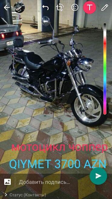 | Qax: Сатылыр мотоцикл чоппер гиймет 3700 азн состояние идиални двигатель ра