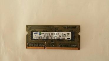 Računari, laptopovi i tableti | Srbija: RAM memorija DD3 za laptop Samsung 2 GB. Prodaje se par /2x2gb/. C