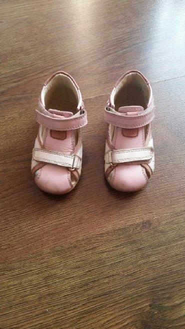 Детская обувь в Кыргызстан: Ортопедические сандали на девочку. Полностью кожаные, состояние