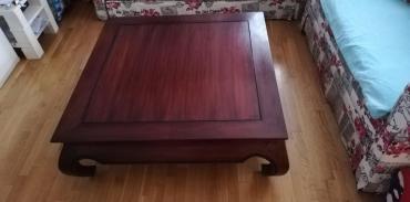 Tabele - Srbija: Indonesian teak table like new. Dimension 100x100