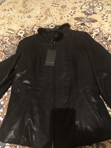 Продаю новую кожаную турецкую куртку в Бишкек