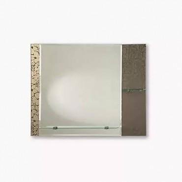 "Зеркало ""Сингапур"" (745x600) с полками в Бишкек"