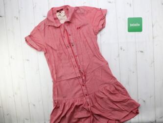 Женское платье рубашка в клетку Длина: 90 см Плечи: 41 см Пог: 35 см Р